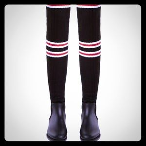 Givenchy Thigh High Sock Boot. Size 8.